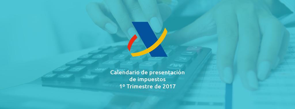 Calendario 1º Trimestre GestiEmpresas asesoría alcorcón